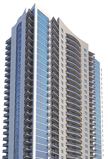22 Skyview building rendering